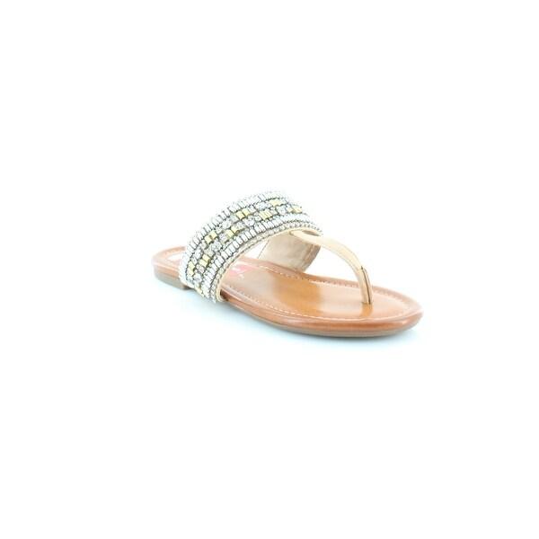 Jessica Simpson Rollison Women's Sandals & Flip Flops Buff - 5