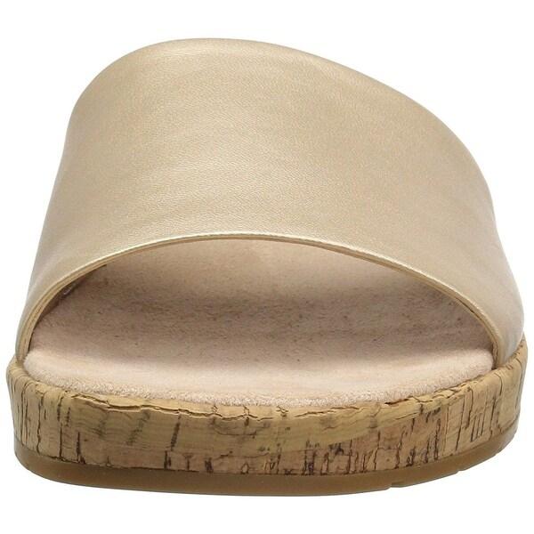 Easy Spirit Womens Muscari Open Toe Casual Slide Sandals