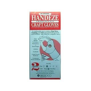 Berroco Handeze Glove Beige Pair Size 3