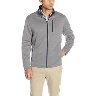 Izod Mens Spectator Solid Fleece Jacket