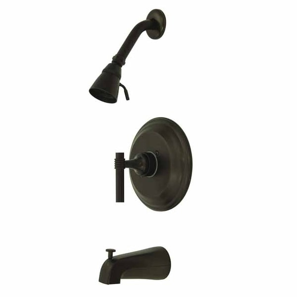 Kingston Brass KB263.MLT Tub and Shower Trim Package with 1.8 GPM Shower Head
