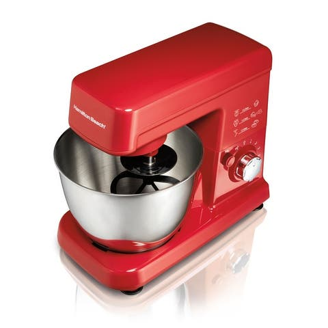 Hamilton Beach 6 Speed Stand Mixer with 3.5 Qt Bowl