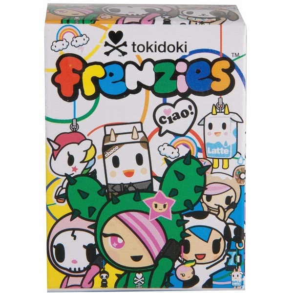 Tokidoki Frenzies Classics One Random Blind Boxed Figure - multi