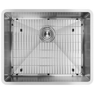 "Elkay ECTRU21179TC  Crosstown 22-1/2"" Undermount Single Basin Stainless Steel Kitchen Sink with Sound Dampening"