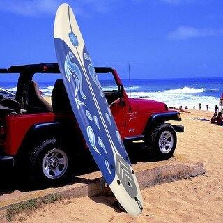 Costway 6' Surfboard Surf Foamie Boards Surfing Beach Ocean Body Boarding White
