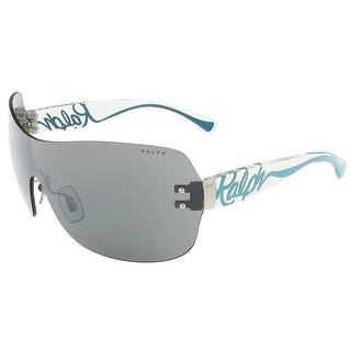 Ralph Lauren RA4106 102/6G Black Single Lens sunglasses