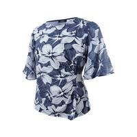 4c9afa5dffa1b3 Shop Msk Women's Rhinestone Flutter-Sleeve Metallic Blouse - On Sale ...