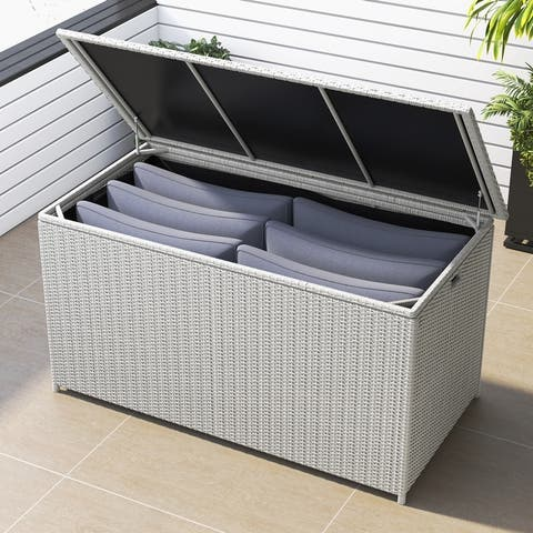 Corvus Lattice 202 Gallons Outdoor Cushion Storage Box