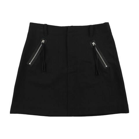 Rachel Roy Womens Solid Mini Skirt