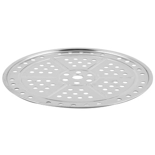 Kitchen Cooking Baking Pan Steaming Food Stockpot Plate Steamer Rack 26cm Dia
