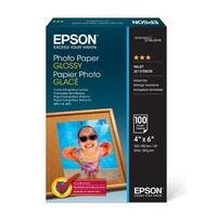 Epson Print - Photo Paper Glossy 4Inx6in,100 Sheets