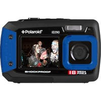 Polaroid IE090 18MP Waterproof Digital Camera (Blue)