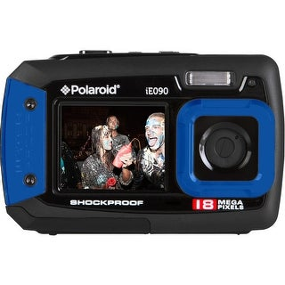 Polaroid IE090 18MP Waterproof Digital Camera (Blue)