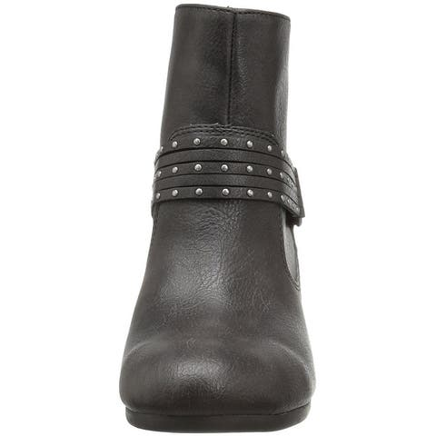 Aerosoles Womens Longevity Round Toe Ankle Cold Weather Boots