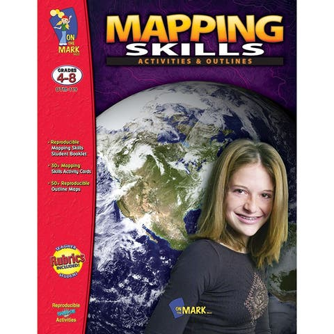 (2 Ea) Mapping Skills Activities & Outlines