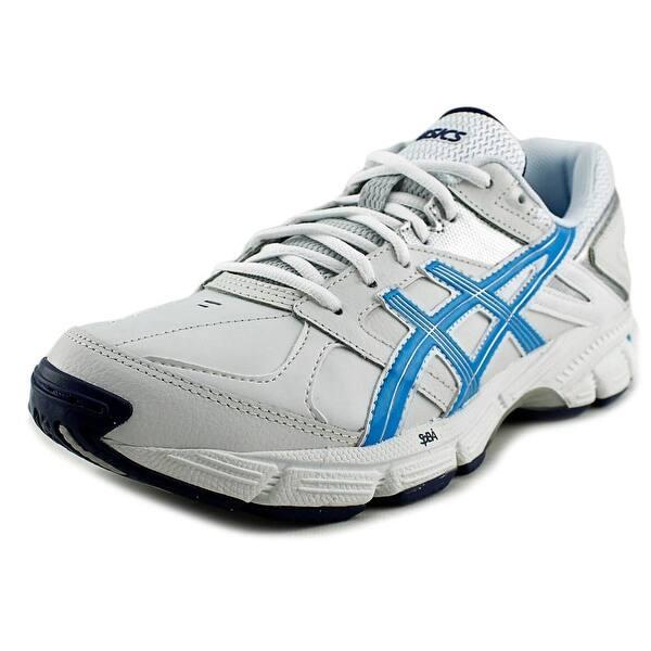 por supuesto en frente de Escultor  Asics GEL-190 TR Women White/Malibu/Silver Tennis Shoes - Overstock -  18598152