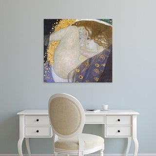 Easy Art Prints Gustav Klimt's 'Danae' Premium Canvas Art