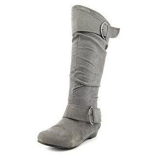 Unionbay Ronnie-G Round Toe Synthetic Knee High Boot