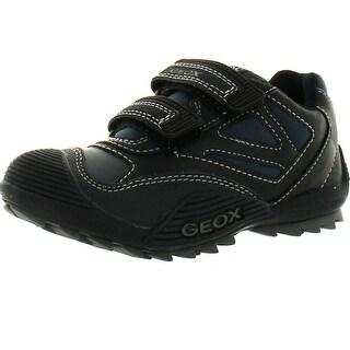Geox Boys Jr Savage Casual Fashion Sneakers