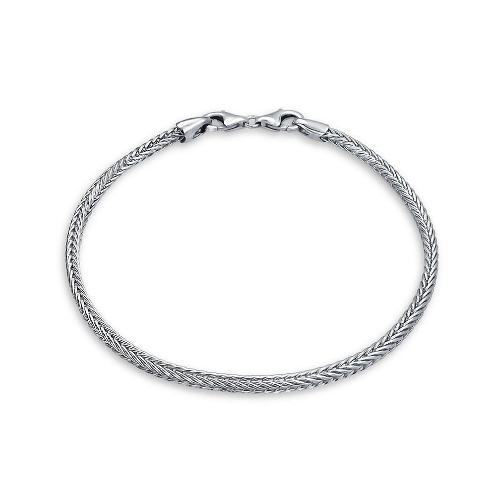 386cca0ee Buy 8 Inch Sterling Silver Bracelets Online at Overstock   Our Best  Bracelets Deals