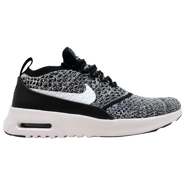 Black Nike Womens Air Max Thea Lotc Qs Black White Showy