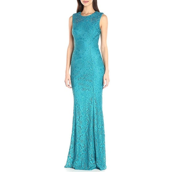 f73be6dd4601 Shop Carmen Marc Valvo Infusion Embellished Lace Evening Gown Dress ...