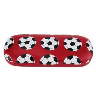 CTM® Kid's Soccer Ball Print Glasses Case