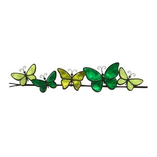 Link to Butterflies On A Wire Wall Decor Brown Similar Items in Outdoor Decor