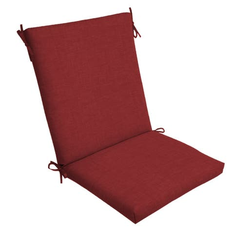 Arden Selections Ruby Leala Texture Outdoor Chair Cushion - 44 in L x 20 in W x 3.5 in H
