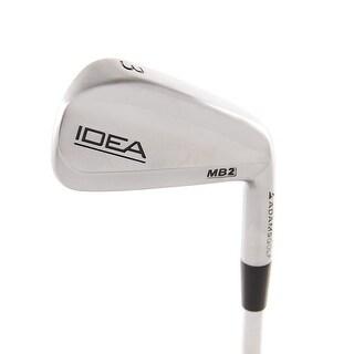 New Adams IDEA MB2 Chrome 3-Iron Uniflex Steel RH