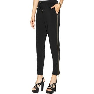 MICHAEL Michael Kors Womens Lounge Pants Drawstring Zipper
