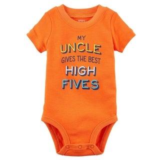 Carter's Baby Boys' High Five Uncle Collectible Bodysuit