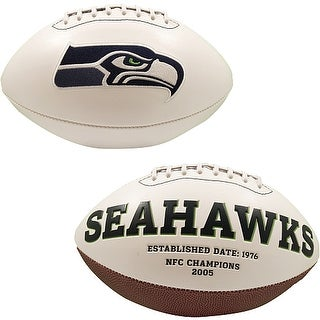 "Seattle Seahawks Embroidered Logo ""Signature Series"" Football"