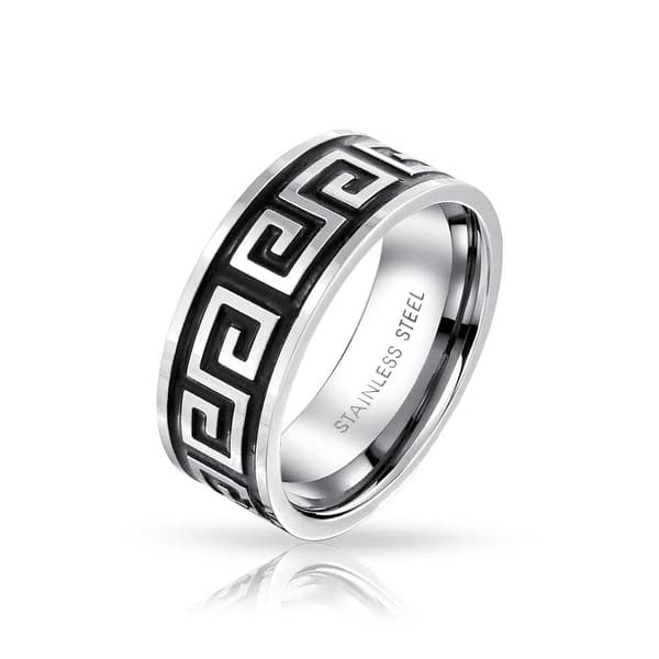 Cool Cross Ring for Men Woman Golden//Silver Stainless Steel Male Design Jewelry