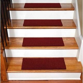 "StepBasic Non-Slip Rubber Backing Resistant Carpet Stair Gripper Set of 7 ( 8.5"" x 26"" )"