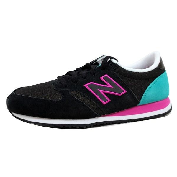 New Balance Women's 420 Bold Brights Black/Pink-BLue WL420KFD