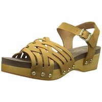 Flogg Womens Milli Closed Toe Casual Platform Sandals