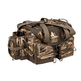 Delta Waterfowl Gear Hunting Floating Deluxe Blind Bag Brown