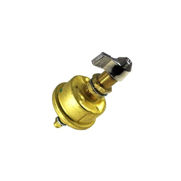 Cole Hersee Single Pole Brass Battery Switch Single Pole Brass Battery Switch