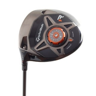 New TaylorMade R1 Black Driver LEFT HANDED w/ Speeder57 R-Flex Shaft (NO HC)