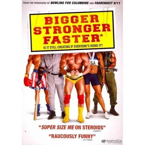 Bigger, Stronger, Faster* - DVD