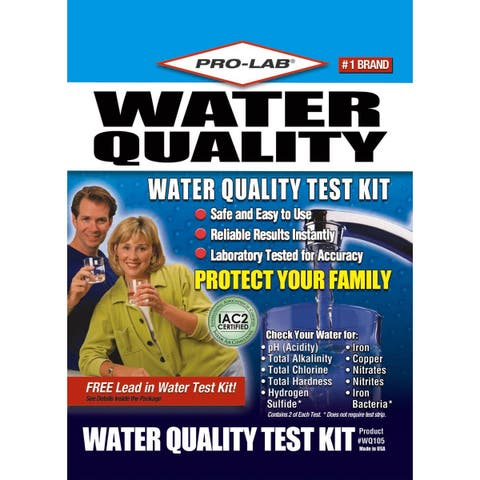 Pro Lab Water Quality Test Kit