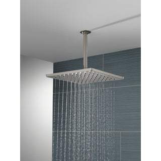 Link to Delta Universal Showering Components Single-Setting Metal Raincan Shower Head (52159-SS) Similar Items in Showers