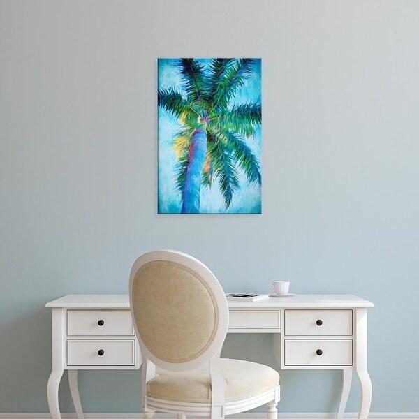 Easy Art Prints Melinda Bradshaw's 'Royal Palm Caribbean II' Premium Canvas Art