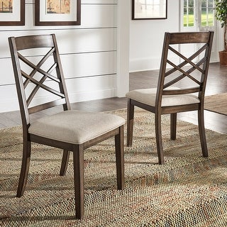 Link to Garrison Espresso Finish Dining Chairs (Set of 2) by iNSPIRE Q Modern Similar Items in Dining Room & Bar Furniture