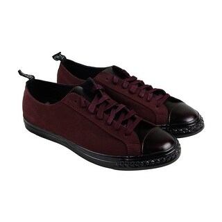 PF Flyers Rambler Lo Mens Burgundy Nubuck Lace Up Lace Up Sneakers Shoes (2 options available)
