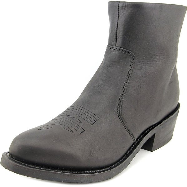 Durango TR820 Men Pointed Toe Leather Black Western Boot