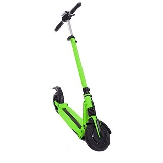 E-Twow Booster Neon Green 33V 6.5 Amp 18 MPH 20 Mile Range Electric Scooter
