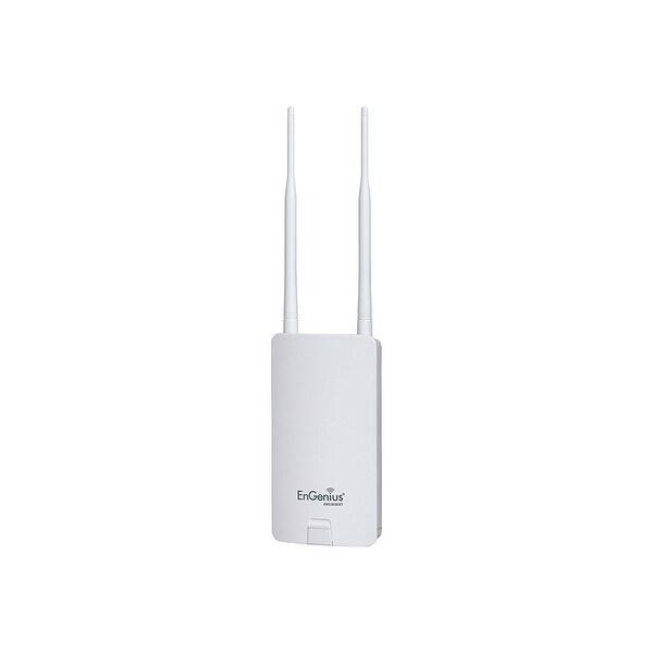 Engenius Ens202 Outdoor Wireless Ethernet Bridge; N300 2.4 Ghz, White