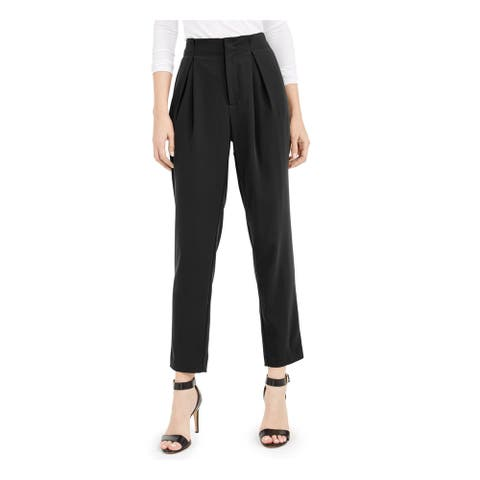 BAR III Womens Black Pants Size 8